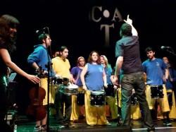 Tabalers tocant al Centre Artesà Tradicionarius
